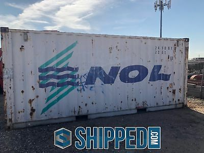 Used 20' Shipping Container Available For Inspection Now In Our Phoenix Az Depot