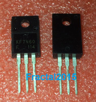 1pcs KF7N60 KF7N60F 7N60 TO220