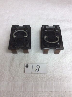 Lot of (2) Wadsworth 30 Amp Fuse holder Pull Out disconnect