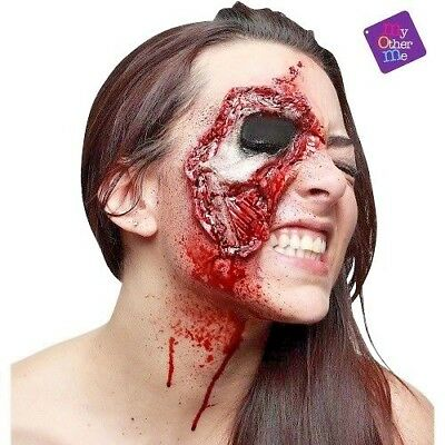 My Other Me Professional Grade Latex Prosthetic Zombie Eye Wound Halloween