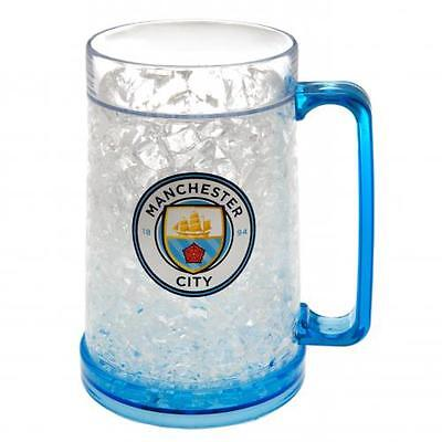 Manchester City FC / Man City Official Crested Plastic Freezer Tankard Gift