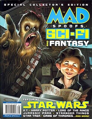 MAD Spoofs Sci-Fi and Fantasy Featuring Star Wars Jurassic Park Game of Thrones