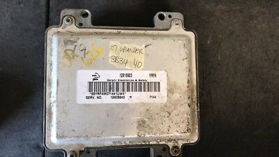 ✅ VIN Programmed E67 12605843 Engine Computer ECU ECM PCM GM