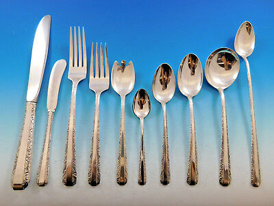 Candlelight by Towle Sterling Silver Flatware Set for 6 Service 73 Pieces