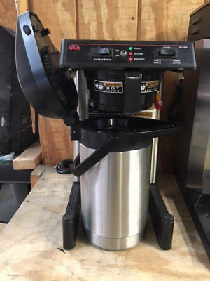 BUNN Smart Wave w/ Airpot Thermal Commercial Coffee Brewer Machine - USED