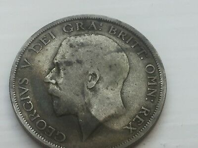 1920 UK HALF CROWN Silver coin, George V