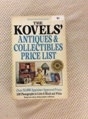 The Kovels' Antiques & Collectibles Price List 1984 First Edition Very Good