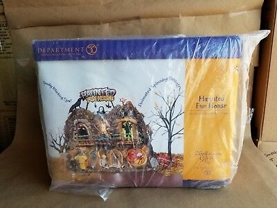 Department 56 Haunted Fun House **NEW IN BOX**
