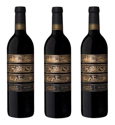 Game Of Thrones Red Wine Blend 3 x 750ml