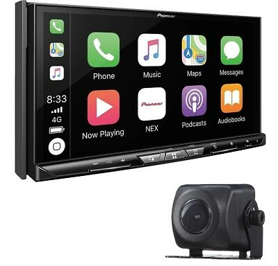 Pioneer AVIC-W8400NEX DVD Player GPS Bluetooth HD WiFi CarPlay + ND-BC8 Camera