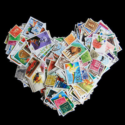 10pcs Worldwide Foreign Souvenir Sheets Stamp Collection Paper Lot Random