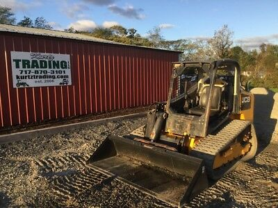 2014 JCB 320T Tracked Skid Steer Loader w/ Joysticks & 2 Speed
