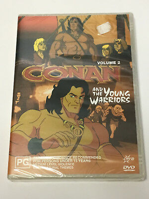 Conan And The Young Warriors - Volume 2 (DVD - Region 4) NEW & SEALED