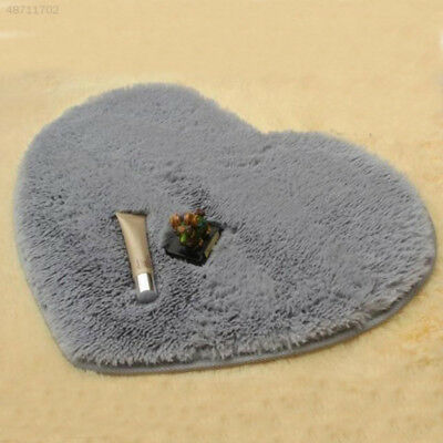 40x30cm Heart Shaped Nonslip Carpet Shower Floor Bathroom Bath Rug Tub