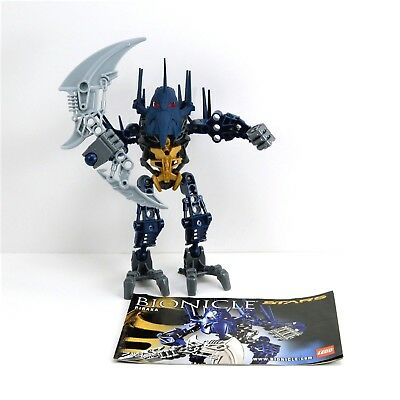 Lego Bionicle Toa Onewa Set 8604 Complete With Instructions No