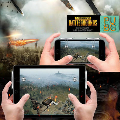 PUBG Mobile Phone Game Controller Shooter Trigger Fire Button for Cell Phone EFM