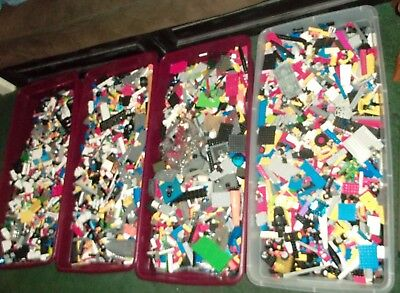 Clean 100% Genuine LEGO By The Pound - 1 - 50 Pounds - Buy 5 Pounds Get 1 Free