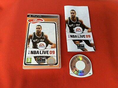 Nba Live 09 2009 Psp Essentials Psp Sony Playstation Complet Pal