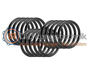 O-Ring Nullring Rundring 7,60 x 2,62 mm BS109 Viton® 75 Shore A schwarz (15 St.)