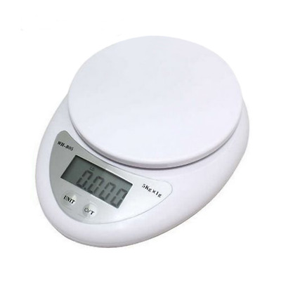 5kg 5000g/1g Digital electronic kitchen scale food diet postal weight balance US
