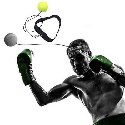 Punching Ball Headband Muay Thai Exercise Reflex Speed Training Boxing Equipment