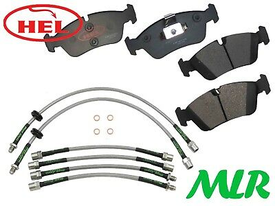 Hel Performance Bmw 3 Series E36 Track Day Front Brake Pads & Lines