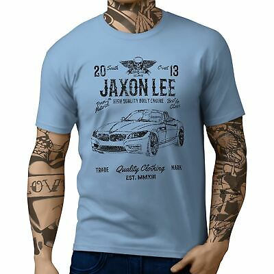JL Soul BMW Z4 Convertible inspired Motorcar Art T-shirts