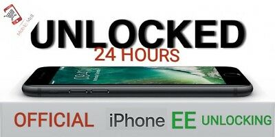 Premium iPhone 6 / 6/ 7 7Plus Unlock Service Unlocking EE ORANGE T-MOBILE UK
