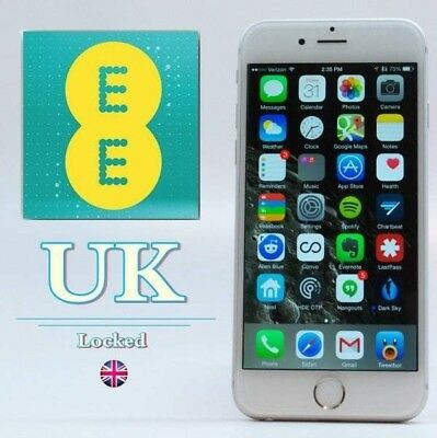 Unlock Service FOR Apple iPhone 8 7 6S 6 5S SE Unlocking EE T-MOBILE ORANGE UK