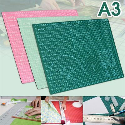 A3/ A4 Grid Lines Cutting Craft Mat Board Self Healing Non Slip Printed Scale