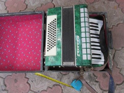 VTG Russian USSR Accordion Bayan Unost-2