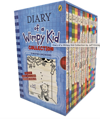 NEW Diary of A Wimpy Kid 12 Bestselling Books Collection Gift Set by Jeff Kinney