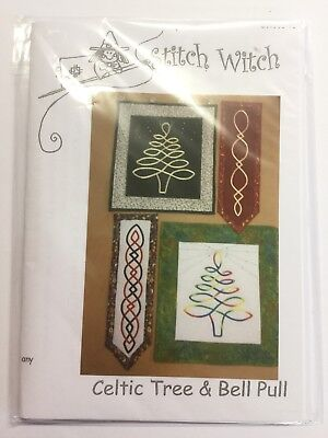 473096a7d QUILTING PATTERN STITCH Witch Away In A Manger - £5.50