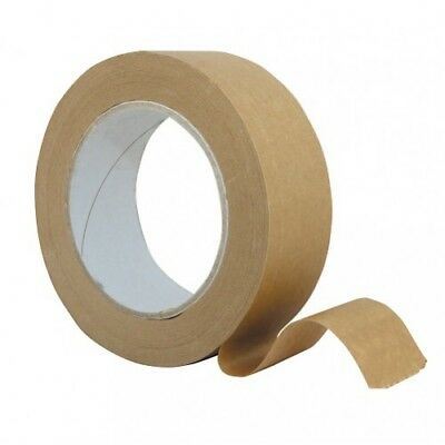 Brown Paper Gummed Tape 50m Roll for Art & Picture Framing 40mm