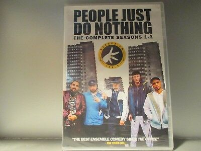People Just Do Nothing: The Complete Seasons 1-3 (DVD, 2017) Brand New