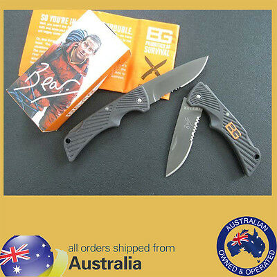 Bear Grylls Gerber Compact Scout Knife - Very Sharp, Pre-Sharpened