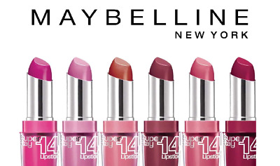 Maybelline Super Stay 14-Hr Lipstick Choose Shades Best Selling