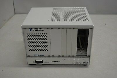 National Instruments NI PXI-1033 Chassis / 5-Slot PXI Mainframe