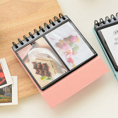 """3"""" 68 Holds Photo Album Calendar Vertical Book for Polaroid Snap Touch Pink"""