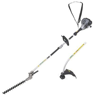 TITAN TTL488GDO 25CC BENT SHAFT PETROL 2-IN-1 GRASS & HEDGE TRIMMER NEW Ref 1