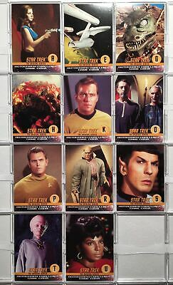 Star Trek The Original Series TOS (11) Autograph Challenge Game Chase Cards