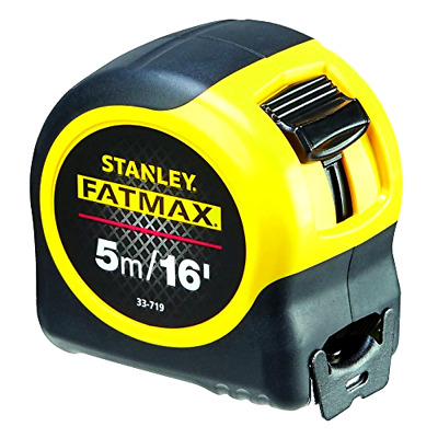 **Stanley STA033719 FatMax Classic Tape with Blade Armor, 5 m/16 ft**