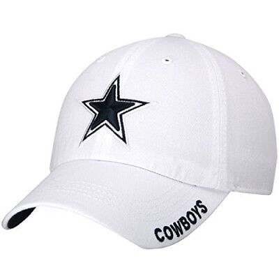 Dallas Cowboys NFL White Slouch Crew Adjustable Hat Cap