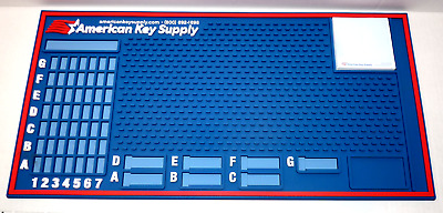American Key Supply Extra-Wide/Extra-Thick Deluxe Pinning Mat