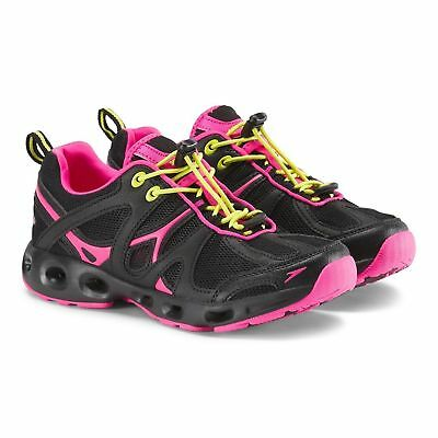 456255ffbcf NEW SPEEDO WOMEN S Hydro Comfort 4.0 Water Shoes- BLACK PINK SIZE 10 ...