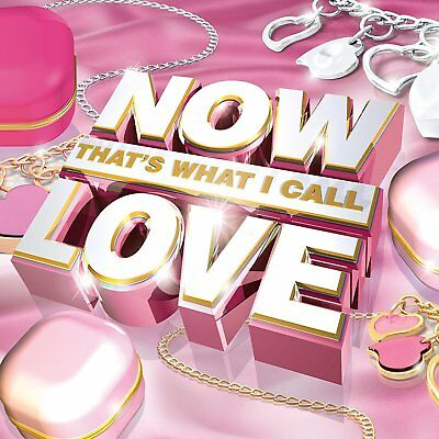 VARIOUS ARTISTS - Now That'S What I Call Love CD *NEW & SEALED*