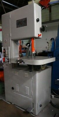 "Grob  Model Ns 18"" Vertical Bandsaw  With Blade Welder"