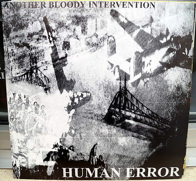 "Human Error/System Shit ‎""Another Bloody Intervention/Kill That Nazi Bastard"" lp"