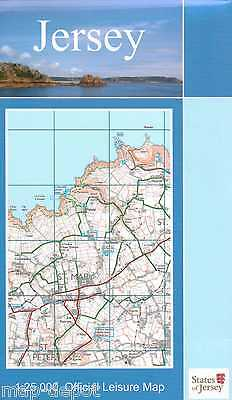 Jersey Map Official Leisure Map  States of Jersey 2017 Edition - Channel Islands