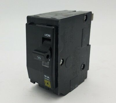 Square D QO220 Clip On Circuit Breaker 20A 2P 120/240V Type QO 20 Amp QO-220